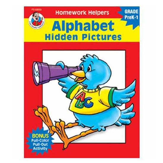 Carson Dellosa Homework Helper Alphabet Hidden Picture Product