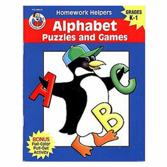 Carson Dellosa Homework Helper Alphabet Puzzle Product