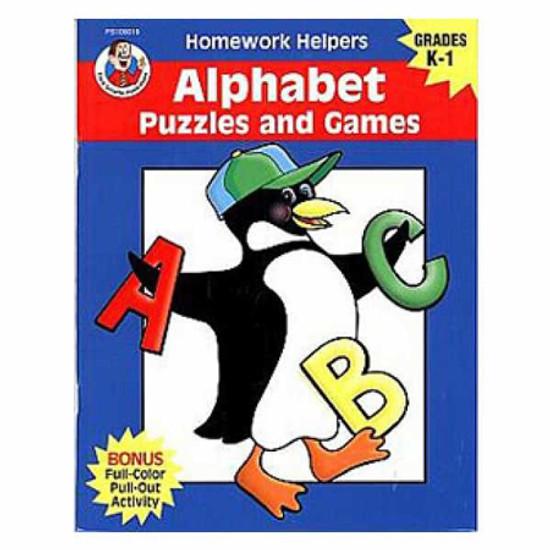 Carson Dellosa Homework Helper Alphabet Puzzle