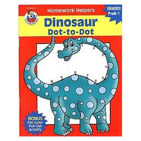 Carson Dellosa Homework Helper Dinosaur Dot To Dot Product