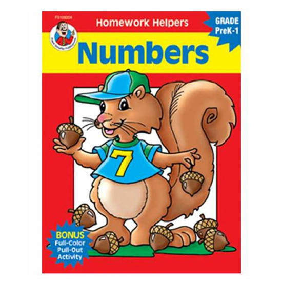 Carson Dellosa Homework Helper Numbers Product