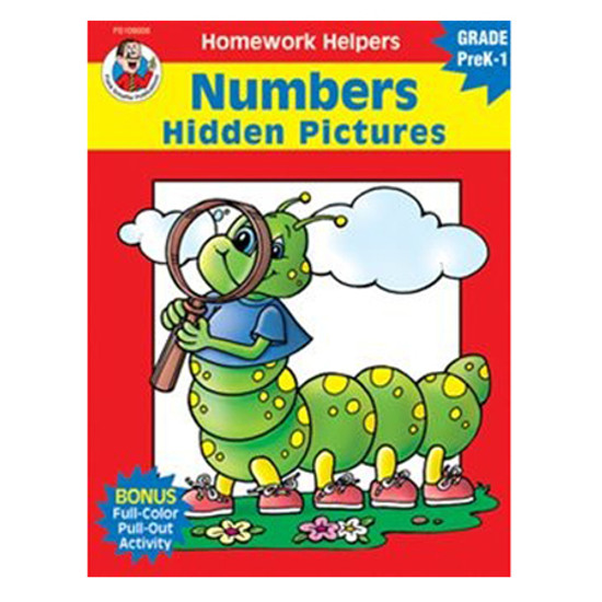 Carson Dellosa Homework Helper Numbers Hidden Pictures