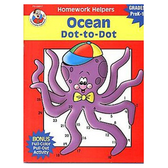 Carson Dellosa Homework Helper Ocean Dot To Dot