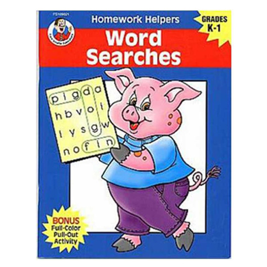 Carson Dellosa Homework Helper Word Searches