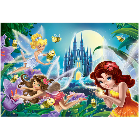 Creative Toy Company Glitter Fairies Bright in the Night Puzzle Product