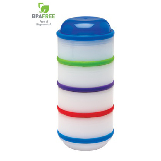 Dr. Brown Snack - A - Pillar Stackable Snack & Dipping Cups Product