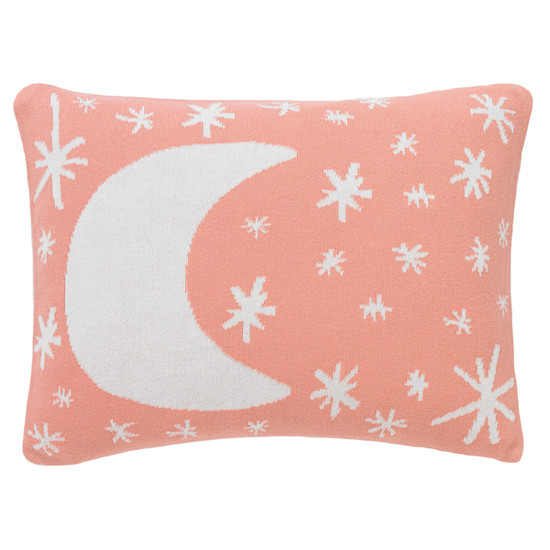 DwellStudio Galaxy Knitted Boudoir Pillow In Blossom Product