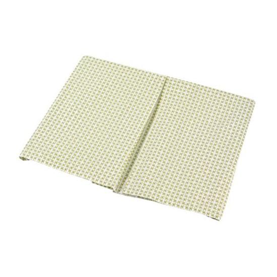 DwellStudio Organic Crib Skirt - Mesh Lawn Product