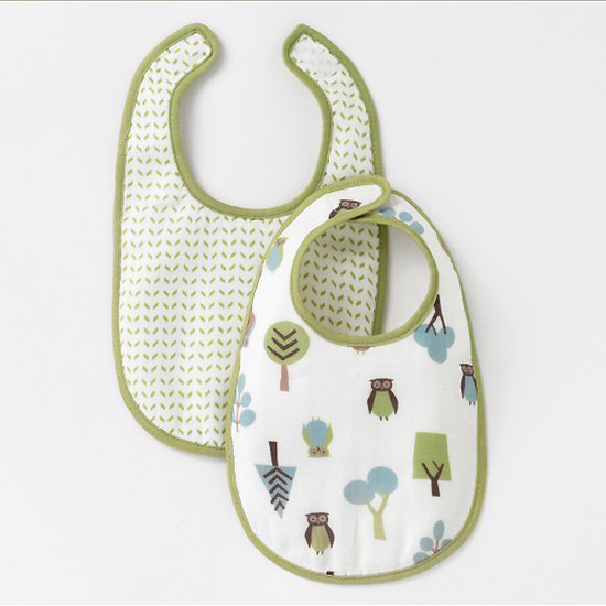 DwellStudio Owls Sky Multi Bib 2pk Product