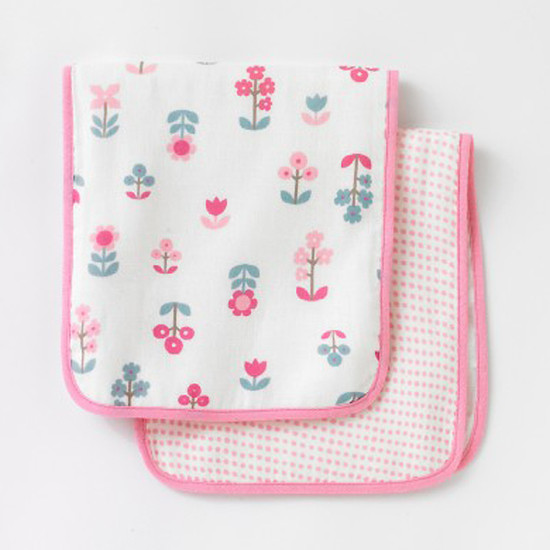DwellStudio Rosette Blossom Burp Cloths 2pk Product