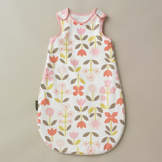 DwellStudio Rosette Blossom Night Sack Flannel