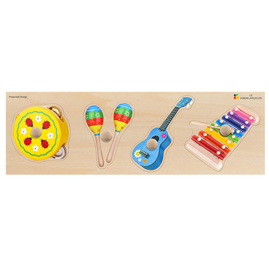edushape Giant Puzzle - Musical Instrument Product