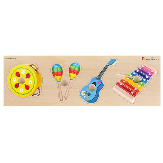 edushape Giant Puzzle - Musical Instrument
