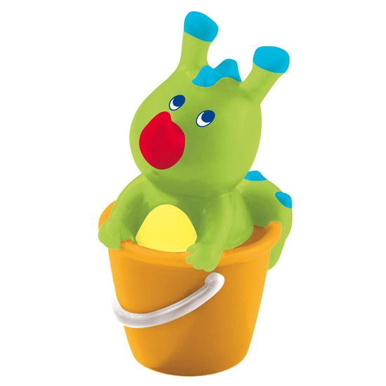 HABA Bathing Bodo Dragon in a Bucket Squirter Product