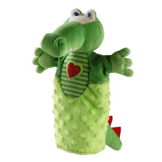 HABA Crocodile Glove Puppet