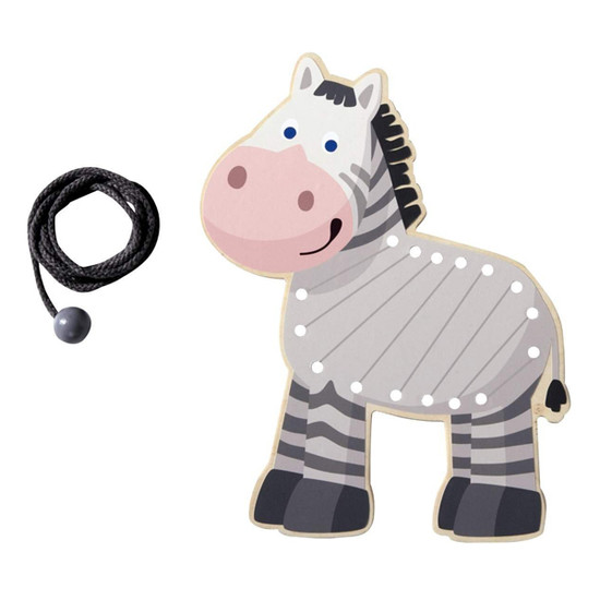 HABA Zebra Threading Animal Product