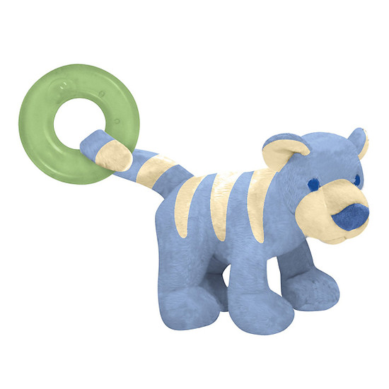 i play. Organic Terry Circus Animal Teether - Tiger- Conflower Product