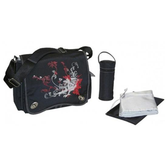 Kalencom Sam's Messenger Bag Black