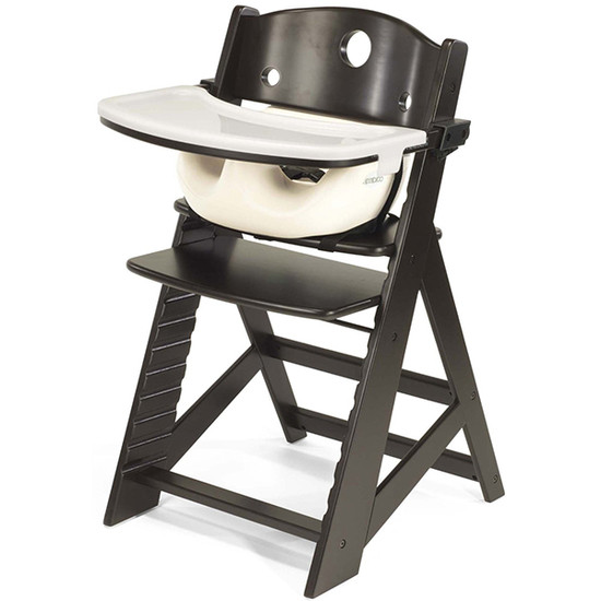 Keekaroo Height Right High Chair with Tray & Insert Expresso Vanilla