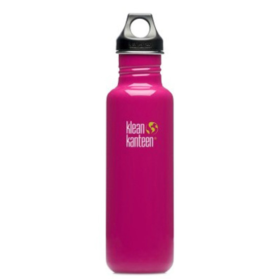 Klean Kanteen 27oz Classic Bottle w/ Loop Cap - Active Pink