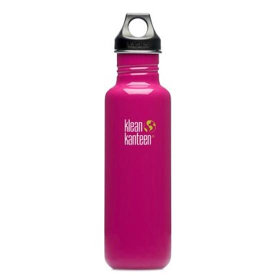 Klean Kanteen 27oz Classic Bottle w/ Loop Cap - Active Pink