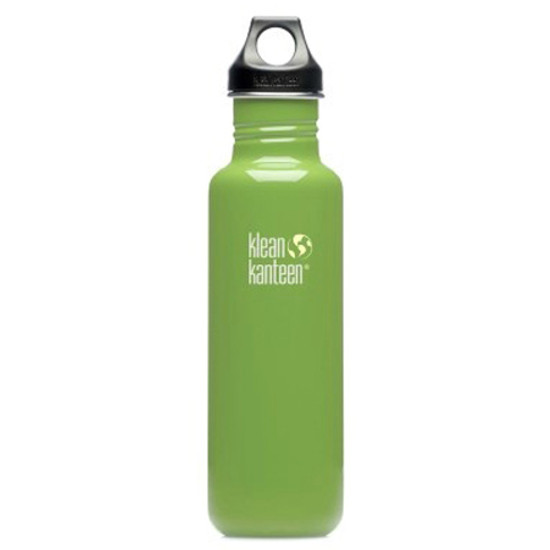 Klean Kanteen 27oz Classic Bottle w/ Loop Cap - Be Green