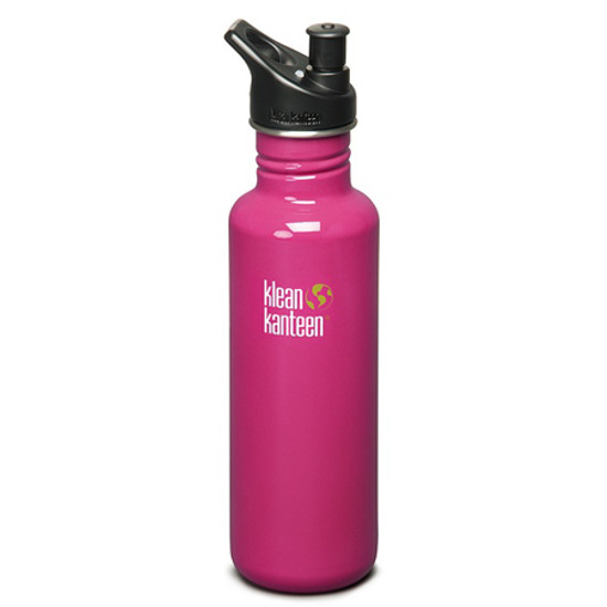 Klean Kanteen 27oz Classic Bottle w/ Sport Cap - Active Pink