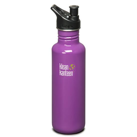 Klean Kanteen 27oz Classic Bottle w/ Sport Cap - Prevention Purple Product