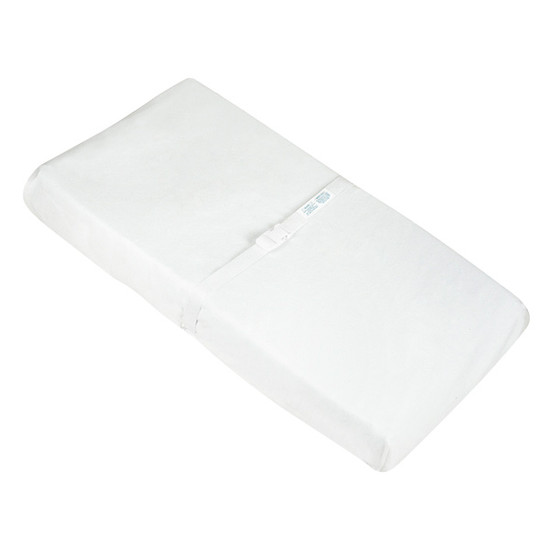 Kushies Organic Change Pad Fitted Sheet White