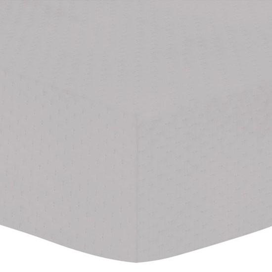 Kushies Waterproof Crib Sheet Cover - Grey
