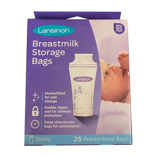 Lansinoh Breast Milk Storage Bags - 25 pcs_thumb1