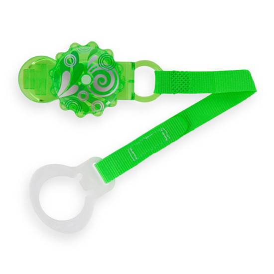 MAM Twist Pacifier Keeper & Clip Green Product