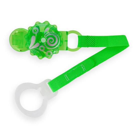 MAM Twist Pacifier Keeper & Clip Green