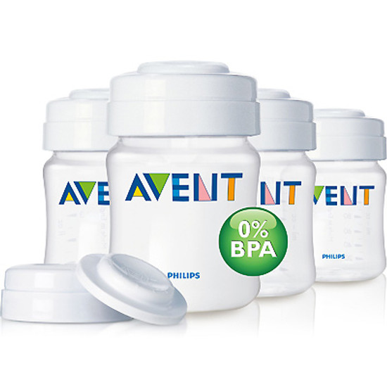 Philips Avent Breast Milk Containers 4oz x4 SCF680/04 Product