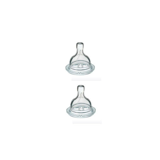 Philips Avent Nipple Fast Flow 6m+ - 195 2pk Product
