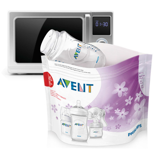 Philips Avent Microwave Sterilizing Bags, 5 count Product