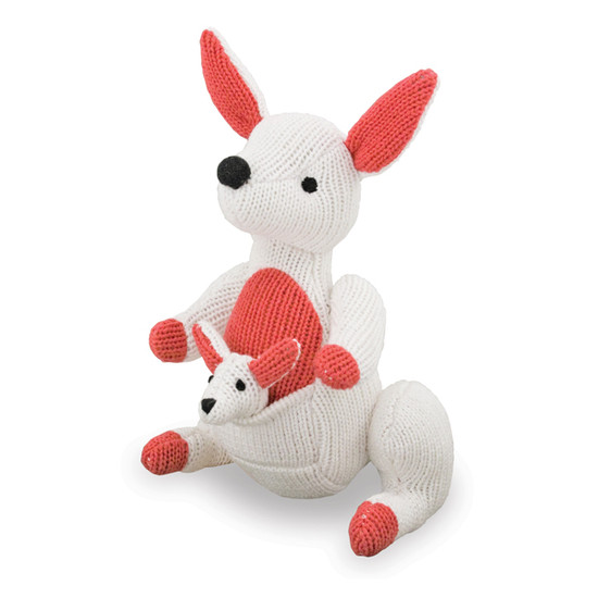 Rich Frog Rattle A Roo - White