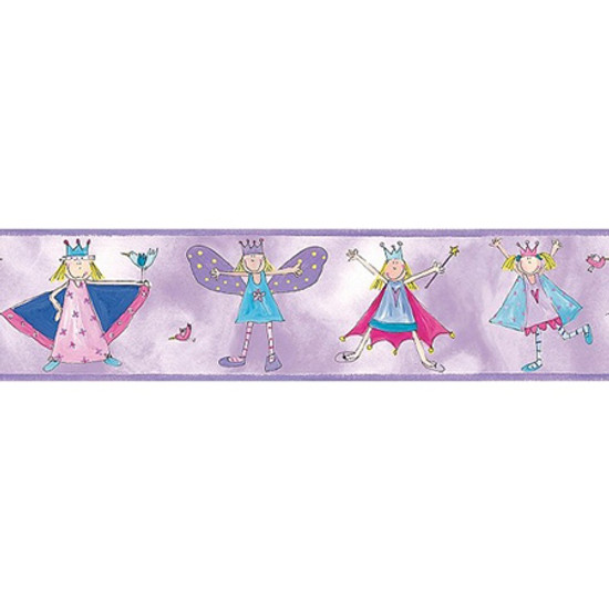 RoomMates Deco Peel & Stick Border - Fairy Princess