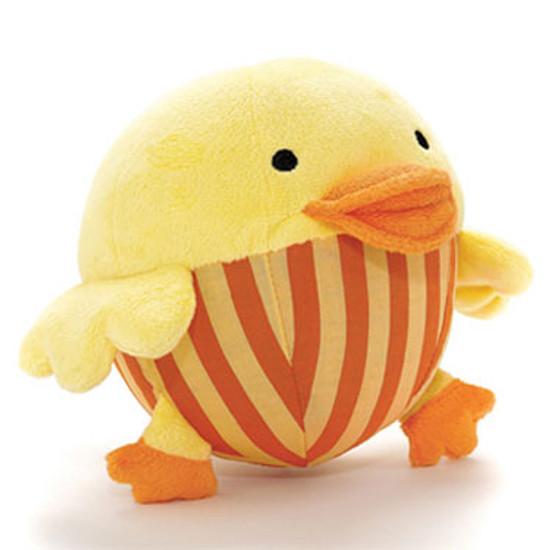 Skip Hop Funky Farmyard Animal Chime Ball - Duck