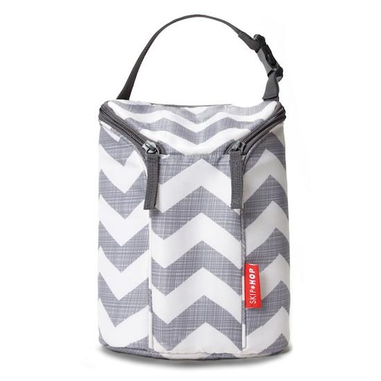 Skip Hop Grab & Go Double Bottle Bag - Chevron Product