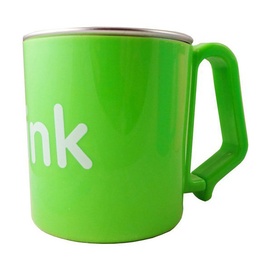 ThinkBaby BPA Free Kid's Cup 6m - Light Green