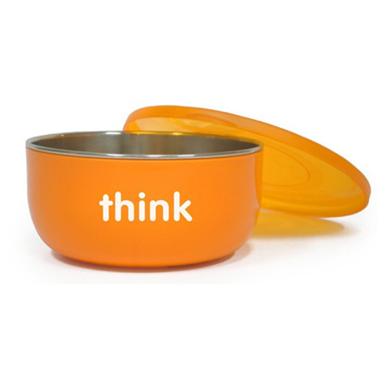 ThinkBaby BPA Free Soup Bowl 6m - Orange Product
