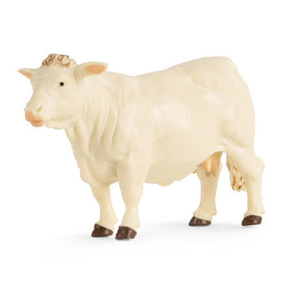 Tomy International Charolais Cow