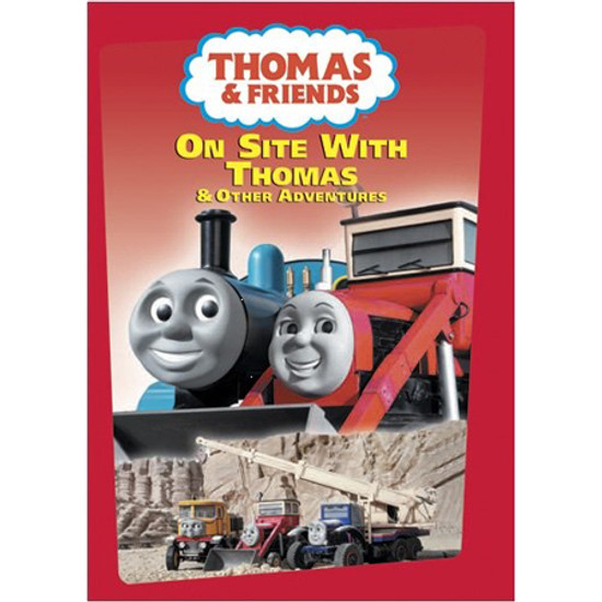 Tomy International Thomas & Friends DVD - On Site with Thomas