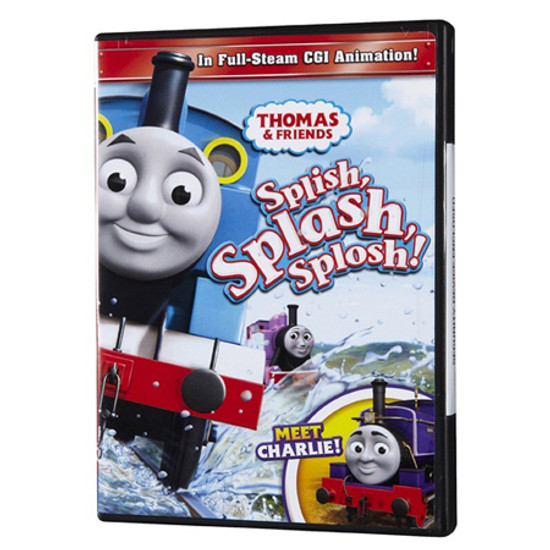 Tomy International Thomas & Friends DVD - Splish, Splash, Splosh!
