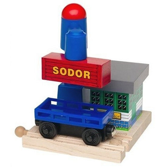 Tomy International Thomas & Friends Wooden Railway - Sodor Cargo Drop