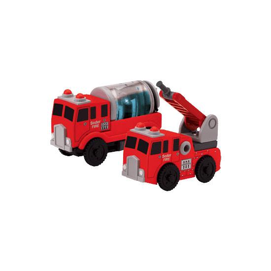 Tomy International Thomas & Friends Wooden Railway - Sodor Fire Crew Product