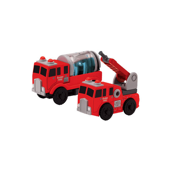 Tomy International Thomas & Friends Wooden Railway - Sodor Fire Crew