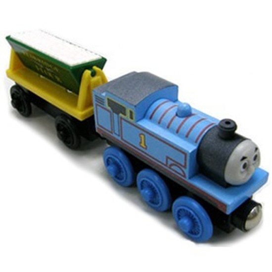 Tomy International Thomas & Friends Wooden Railway - Thomas and the Flour Car
