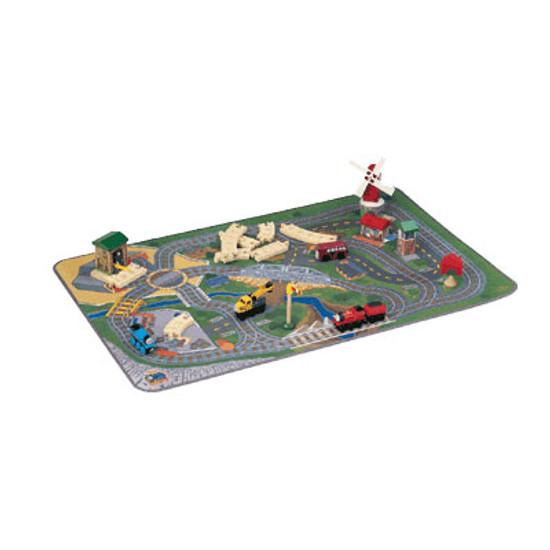 Tomy International Thomas Train Felt Playmat